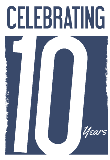 We are celebrating 10 years